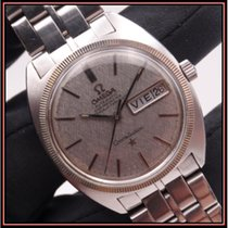 Omega Constellation Day-Date Çelik 35mm Gri Rakamsız