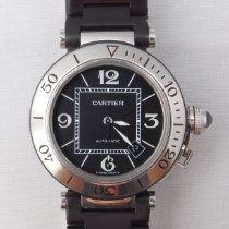 Cartier Pasha Seatimer Steel 40mm Black United States of America, Michigan, Warren