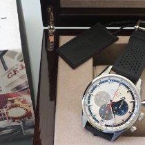 Zenith El Primero 36'000 VpH używany 42mm Srebrny Chronograf Data Kauczuk