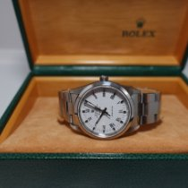 Rolex Air King Precision Acero 34mm Blanco Sin cifras España, Barcelona