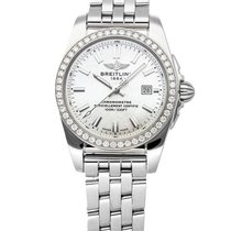Breitling Galactic 29mm Mother of pearl No numerals