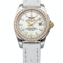 Breitling Galactic Gold/Steel 29mm Mother of pearl