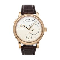 A. Lange & Söhne Lange 31 Rose gold 45.8mm Silver No numerals United States of America, Pennsylvania