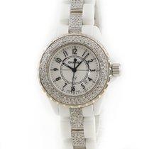 Chanel Quartz Blanc occasion J12