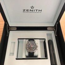 Zenith El Primero Sport Acier 45mm Gris Sans chiffres France, morteau
