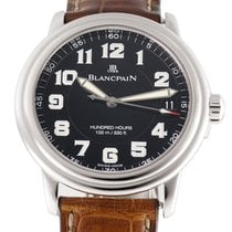 Blancpain Léman Ultra Slim Steel 38mm Black Arabic numerals