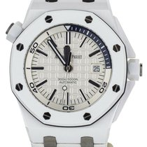 Audemars Piguet Remontage manuel Blanc 42mm occasion Royal Oak Offshore Diver