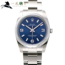Rolex Oyster Perpetual 34 Acero 34mm Azul