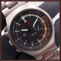 Sinn 157 Titanium 40mm Black Arabic numerals