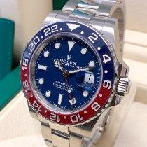 Rolex 126719BLRO Or blanc 2020 GMT-Master II 40mm nouveau