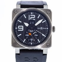 Bell & Ross BR 03-51 GMT Titanio 42mm Negro