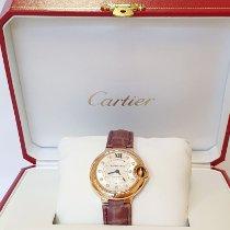 Cartier Ballon Bleu 33mm usados 33mm Plata Piel de aligátor