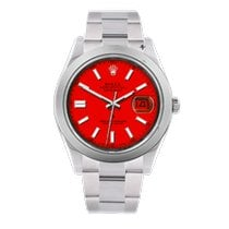 Rolex Datejust II Acero 41mm Rojo