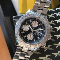 Breitling Superocean Chronograph II Steel 41mm Black No numerals