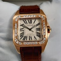 Cartier Santos 100 Very good Rose gold 33mm Automatic United Kingdom, London