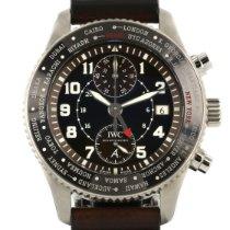 IWC Pilot Chronograph IW395003 Zeer goed Staal Automatisch Nederland, Woerden