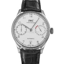 IWC Portuguese Automatic Steel 42.3mm Silver Arabic numerals United States of America, Maryland, Baltimore, MD