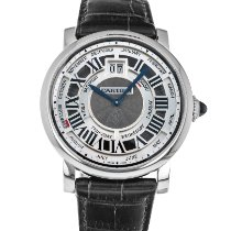 Cartier Rotonde de Cartier White gold 45mm Silver United States of America, Maryland, Baltimore, MD