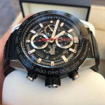 TAG Heuer Carrera Calibre HEUER 01 Steel 45mm Transparent No numerals United States of America, California, Newport Beach