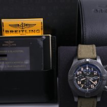Breitling Super Avenger II pre-owned 48mm Black Chronograph Date Leather