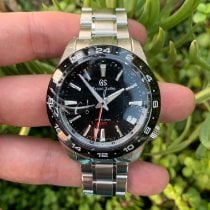 Seiko Grand Seiko Steel 40.5mm Black No numerals United States of America, California, Los Angeles