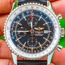Breitling Navitimer World Steel 46mm Black No numerals United States of America, Texas, Plano