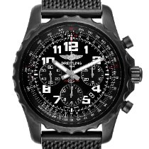 Breitling Chronospace Steel 46mm Black Arabic numerals United States of America, Georgia, Atlanta