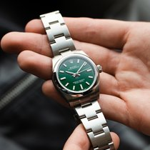 Rolex Oyster Perpetual 31 Staal 31mm Groen Nederland, Purmerend