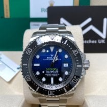 Rolex Sea-Dweller Deepsea Steel 44mm Blue No numerals United Kingdom, Colchester
