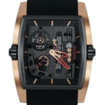 Cyrus Red gold 50mm Manual winding 529.002.C new