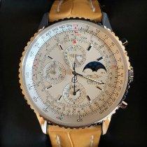 Breitling Montbrillant Olympus Acero 43mm Champán Sin cifras