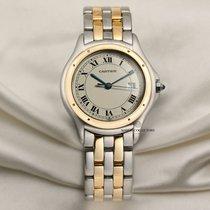 Cartier Cougar Золото/Cталь 32mm