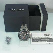 Citizen Promaster Sky Πολύ καλό Τιτάνιο 46mm Χρονογράφο