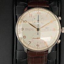 IWC Portuguese Chronograph Acier 41mm Blanc Arabes France, Mignaloux-Beauvoir