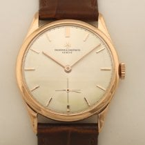 Vacheron Constantin Red gold Manual winding Silver 33,5mm pre-owned Patrimony