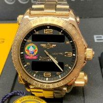 Breitling Emergency K56321 Odlično Zuto zlato Kronograf
