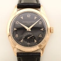 Vacheron Constantin Red gold Manual winding Black Arabic numerals 35,5mm pre-owned Patrimony