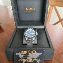 Mido Ocean Star Stal 40,50mm Niebieski Bez cyfr