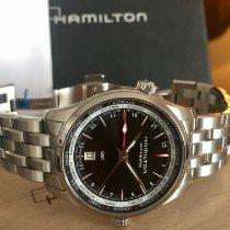 Hamilton Jazzmaster GMT Auto Steel 42mm Black No numerals