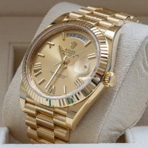 Rolex 228238-0006 Or jaune 2019 Day-Date 40 40mm occasion