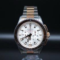 Zenith El Primero Stratos Flyback nuevo Automático Reloj con estuche y documentos originales 51.2061.405/01.M2060