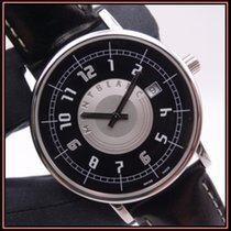 Montblanc Summit Steel 39mm Black Arabic numerals