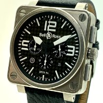 Bell & Ross BR 01-94 Chronographe Titanium 46mm Black Arabic numerals United States of America, Florida, Miami