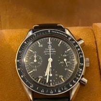 Omega Speedmaster Reduced Steel 39mm Black No numerals United States of America, New York, New York
