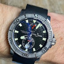 Ulysse Nardin Maxi Marine Diver Silver 43mm Black United States of America, Indiana, Indianapolis