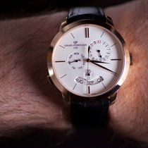 Girard Perregaux 1966 Rose gold 41mm Silver United States of America, New York, WHITESTONE