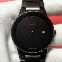 Citizen Ceramic Quartz Black No numerals 40mm pre-owned