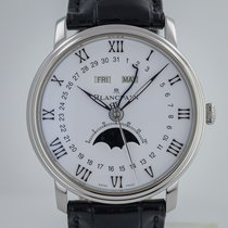 Blancpain Villeret Quantième Complet new 2019 Automatic Watch only 6654-1127-55B