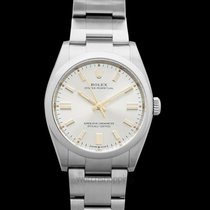 Rolex Oyster Perpetual 36 Steel 36.00mm Silver United States of America, California, Burlingame