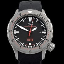 Sinn U212 Steel 47mm Black United States of America, California, Burlingame